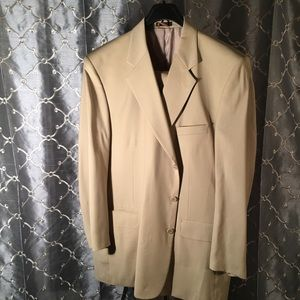 Other - Oleg Cassini Gold Men's Suit